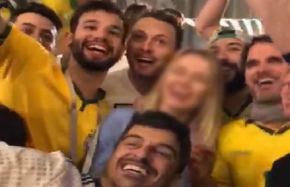 Policial militar de SC está entre brasileiros que aparecem em vídeo que constrange mulher na Rússia