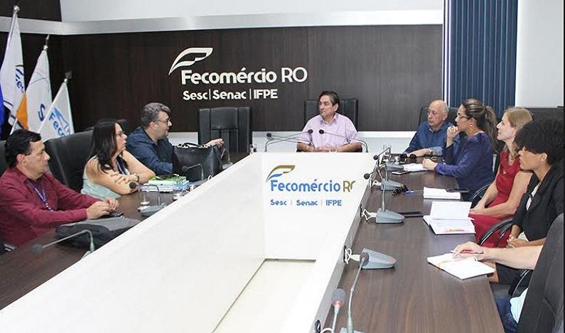 """Fecomércio faz parceria com TCE-RO para divulgar """"OPINE AÍ"""""""
