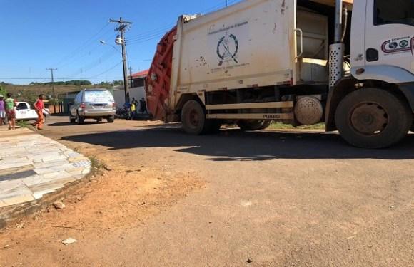 Gari morre após ser atropelado por caminhão de lixo enquanto trabalhava em RO