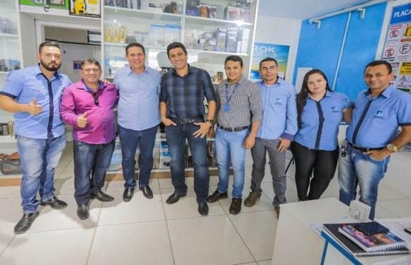 Maurão de Carvalho diz que sua gestão vai priorizar criação de empregos e fortalecimento das empresas