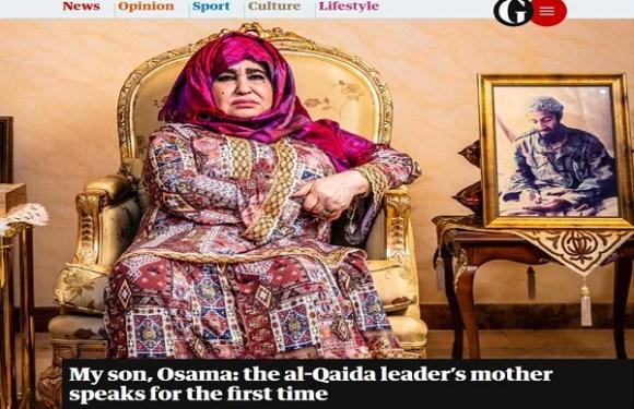 Ele era uma criança muito boa, mas sofreu lavagem cerebral, diz mãe de Osama Bin Laden