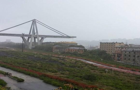 Ponte desaba no norte da Itália e deixa mortos e feridos