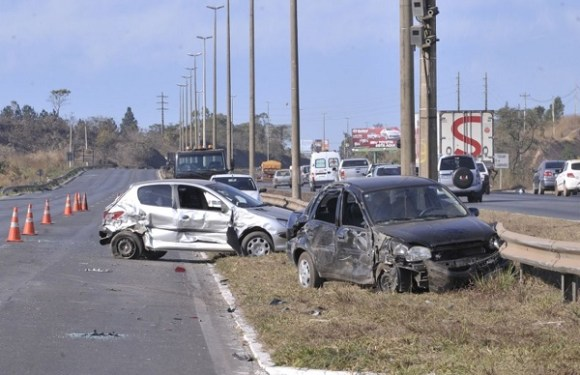 PRF registra 764 acidentes em rodovias federais durante o feriado