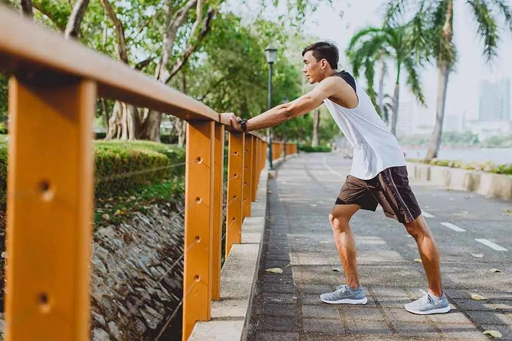 Achilles heel stretch runner