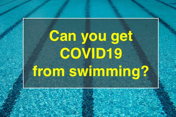 Can you get COVID19 from a swimming pool?