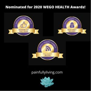 WEGO Health Nomination Badges 2020