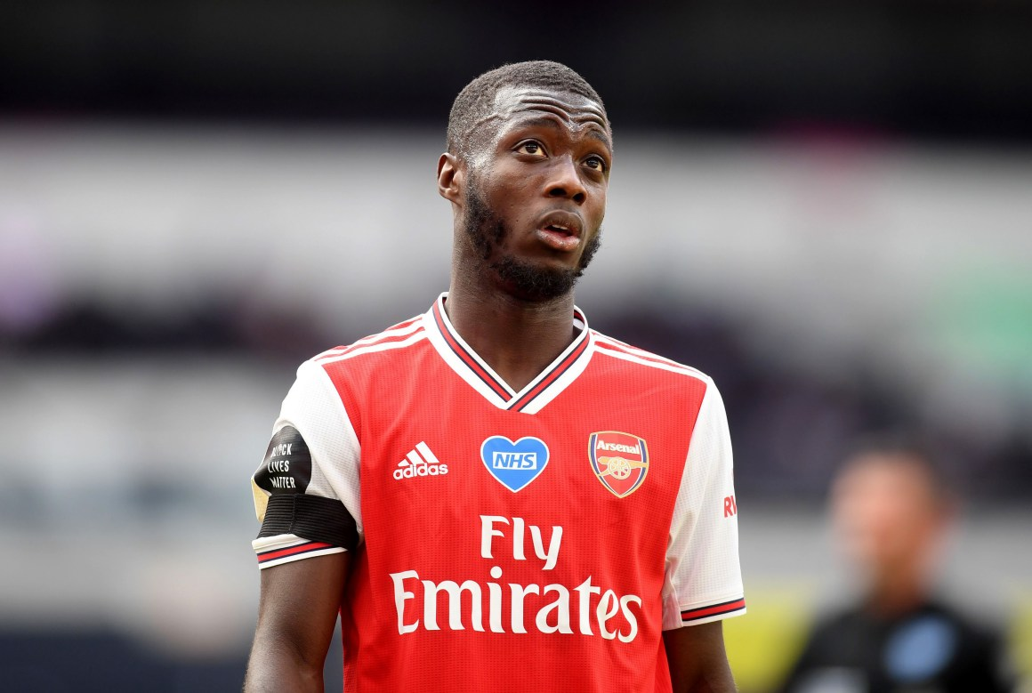 Is Nicolas Pepe at Risk of Being Left Behind at Arsenal Next Season?
