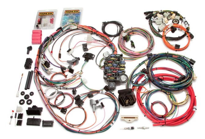 26 circuit direct fit 197477 camaro harness  painless