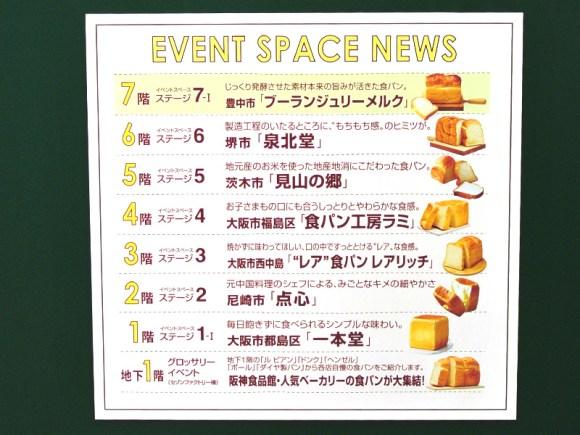 阪神梅田本店「うめいちマルシェ」イベントスペースニュース