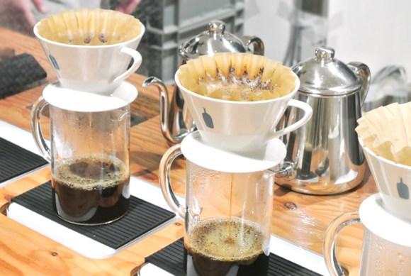 ブルーボトルコーヒーのハンドドリップ