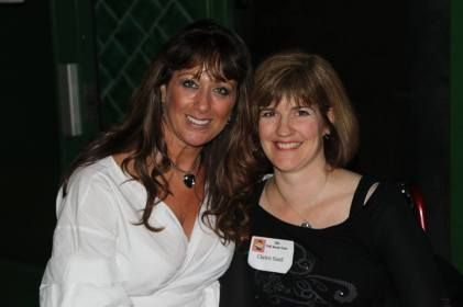 With Tracy, one of the amazing ladies who run TBC