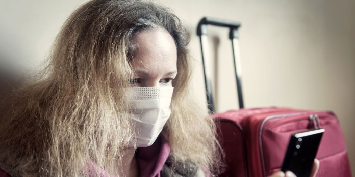 Coronavirus pain while traveling