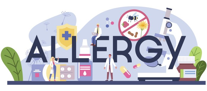 How do allergies affect people with chronic pain?
