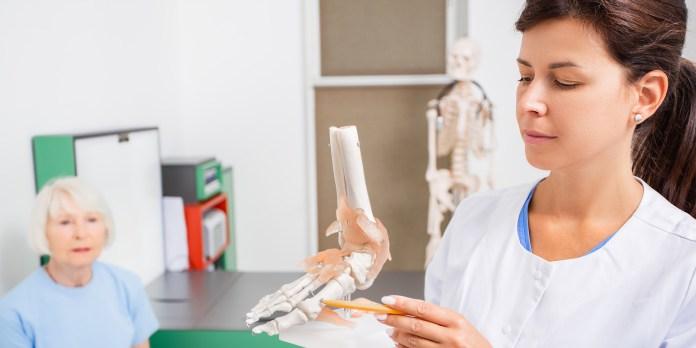 Podiatrists foot surgeon