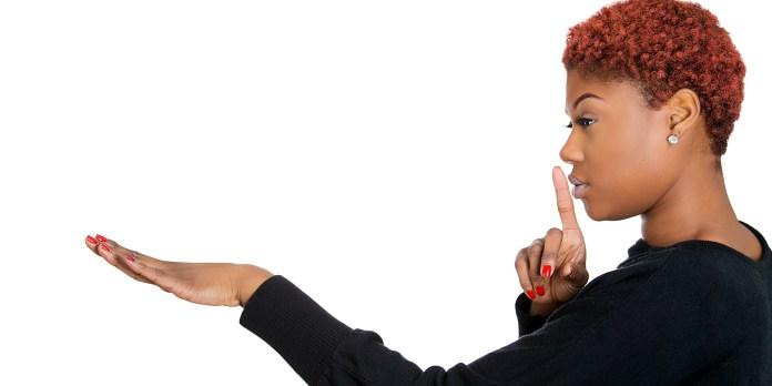 Shush your negative self-talker