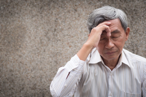 Asian men with migraine living with fibromyalgia