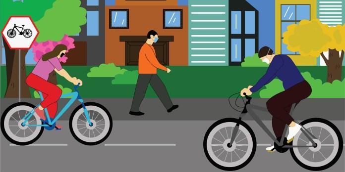 Start walking, biking, or enjoying the outdoors