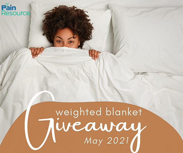 Win a weighted blanket