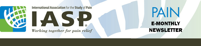 IASP PAIN E-Monthly Newsletter Email Header