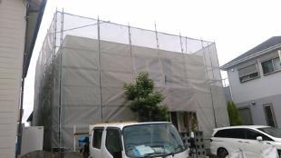 厚木市  O様  外壁サイディング ハイブリッドプレミアムシリコン  外壁ワーキングジョイント目地  変成シリコンコーキング打ち替え   屋上シート防水  断熱塗装ガイナ    付帯塗装1式  O様  お待たせしました。 良い仕事で頑張りますので、よろしくお願いいたします。 1,2 外壁及び、屋上の施工前の様子です。