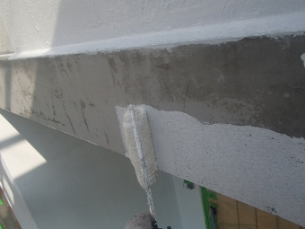 ガイナ 茅ヶ崎市 コロニアル 屋根 塗装