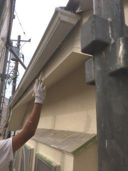 リシン外壁ガイナ塗装 (7)