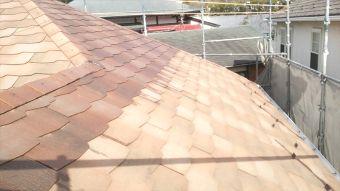 屋根 ガイナ塗装 (1)