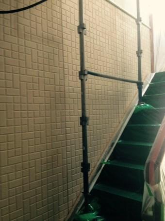 1階 ガイナ塗装 中塗り (2)