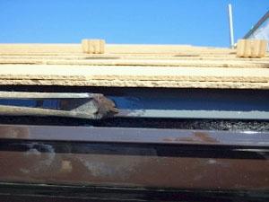 ストレート屋根塗装