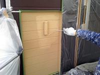 10サイディング壁 ガイナ塗装 上塗り(3層目)3