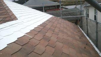 屋根 ガイナ塗装 (3)