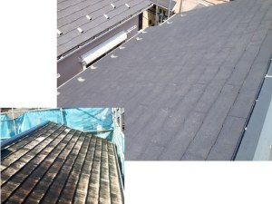 屋根の劣化に合わせた工事方法が行われなかった問題