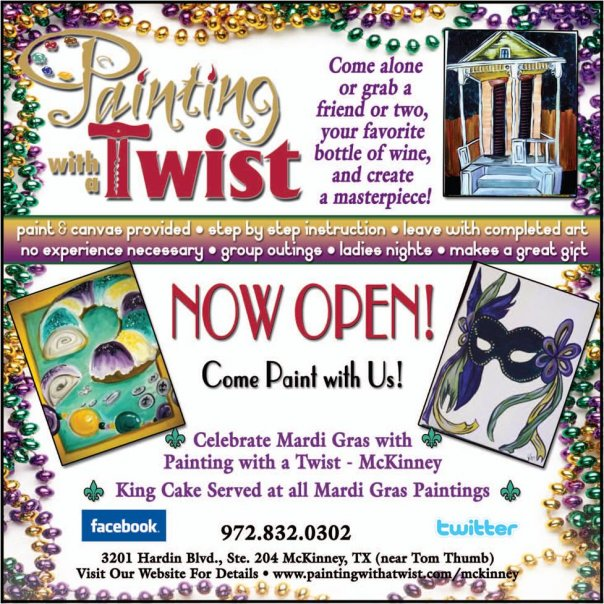 Painting Twist Coupon