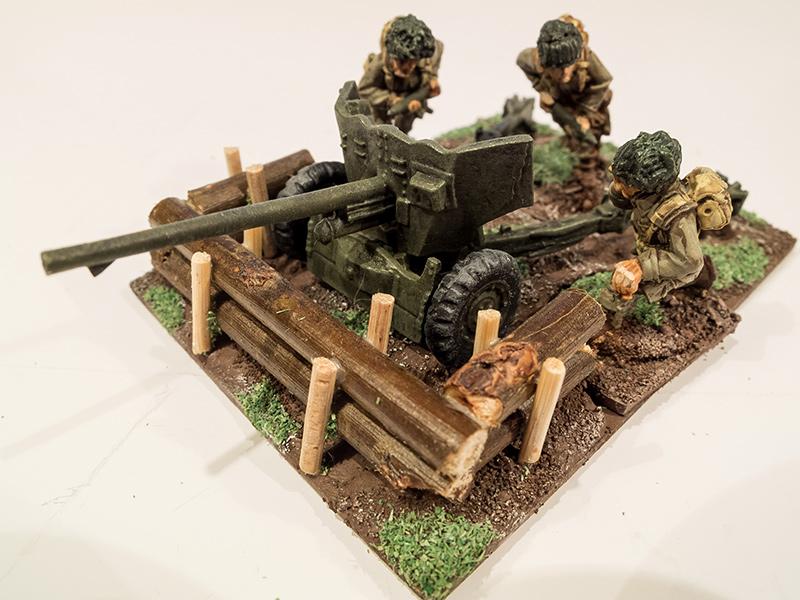 Warlord 28mm US Airborne 57mm AT Gun