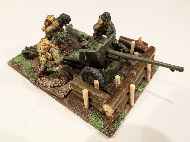 Warlord 28mm US Airborne 57mm AT Gun