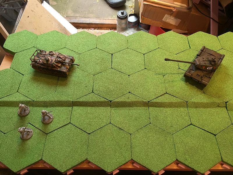 Building My Hex Terrain – Paint & Glue