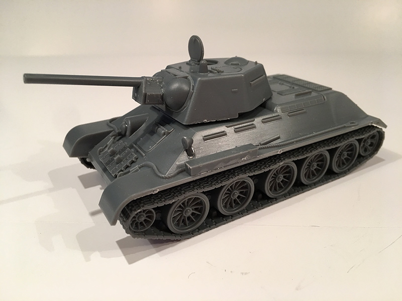 Warlord Games T-34/76 Kit built up