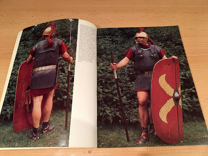 The Roman Legions Recreated in Colour Photographs