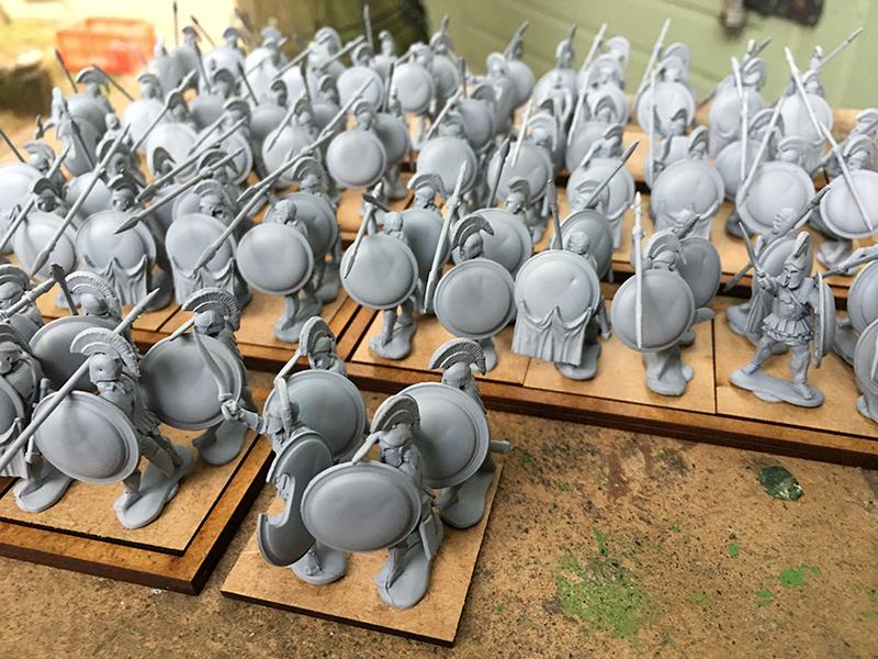 Warlord Greek Hoplites