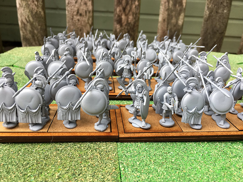 Greek Hoplite Army