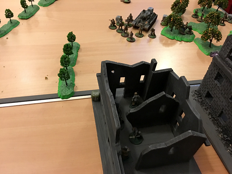 The German Left Flank
