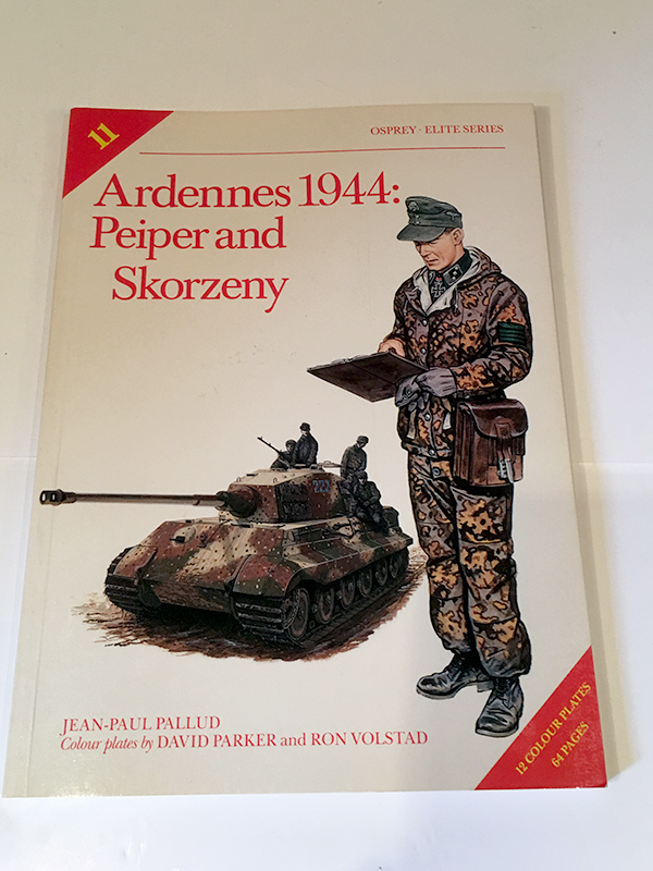 Ardennes 1944: Peiper and Skorzeny - front cover