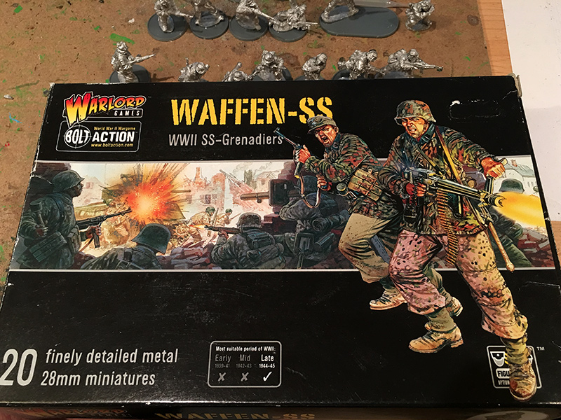 Warlord Games Waffen SS Box Front