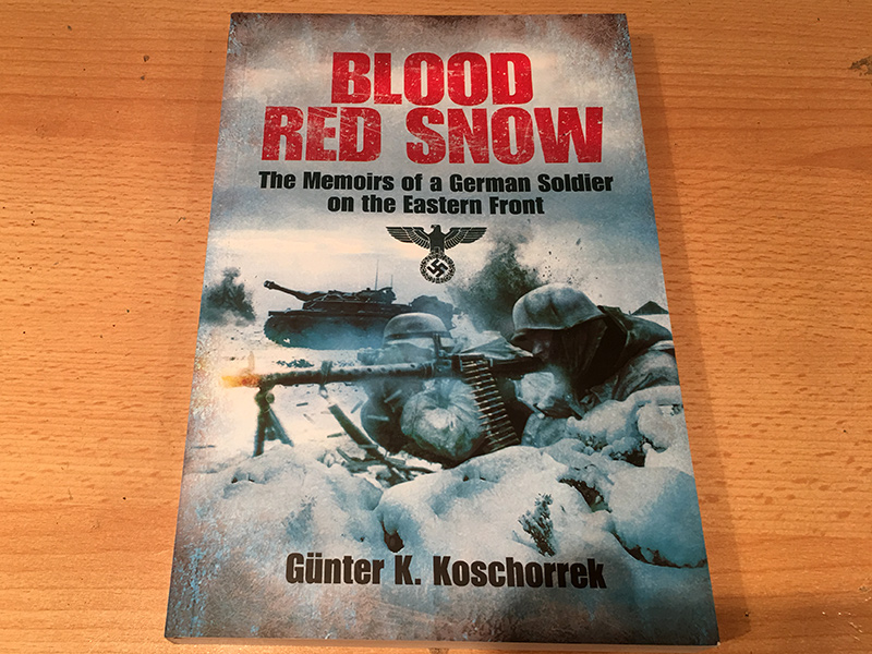 Blood Red Snow Front Cover