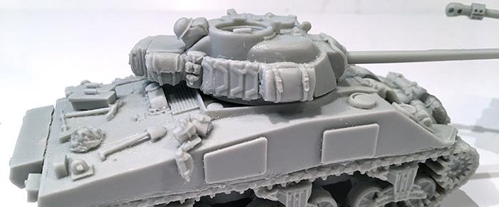 Blitzkrieg Miniatures Sherman Firefly Unboxing – Paint & Glue