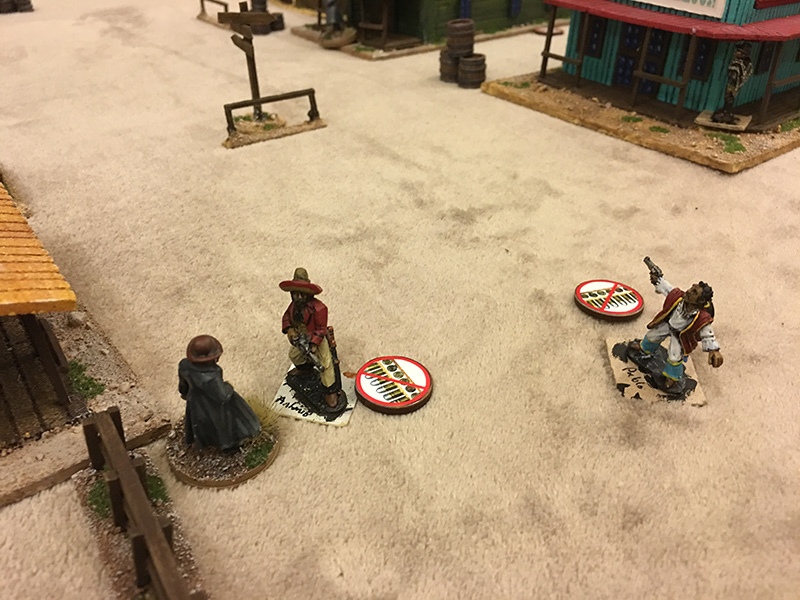 Hand to hand combat in the Wild West