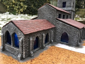 The finished Church