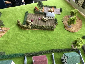 The German left flank showing 50% casualties