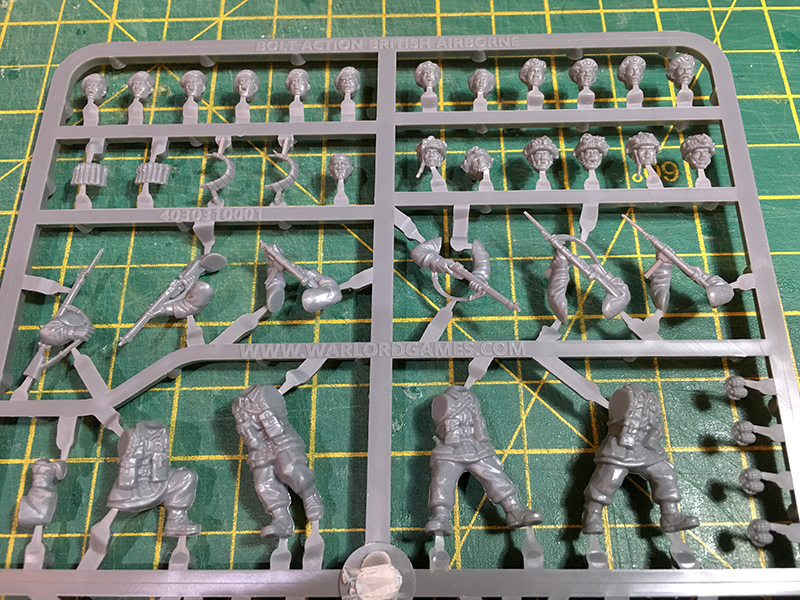 Warlord Games 1/56 Plastic British Airborne