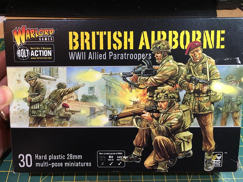 Warlord Games 1/56 Plastic British Airborne
